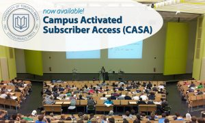 Now available! Campus Activated Subscriber Access (CASA)